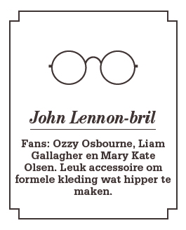 seemagazine.be - Brillen - John Lennon